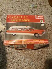 Vintage JO-HAN CADILLAC AMBULANCE ORIGINAL unbuilt KIT#GC 500:200 Estate toy