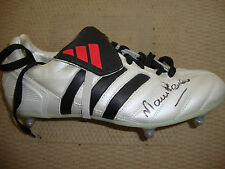 Retired Players Surname Initial P Signed Football Boots