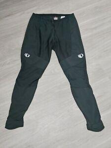 Men's Pearl Izumi Elite Thermal Cycling  Tights Pants Size Large Black