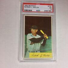 1954 BOWMAN #151 PATRICK J. MULLIN  PSA EX - 5 NICE CARD