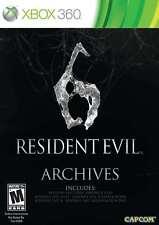 Resident Evil 6 Archives Xbox 360 New Xbox 360, Xbox 360