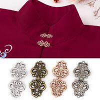 1Pc Women Shawl Collar Cardigan Snap Fastener Clip Metal Button DIY Craft 03au