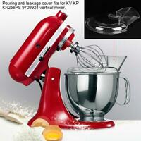 Pouring Shield Guard fit for KitchenAid K45 K5 Stand Mixer Bowl Attachments
