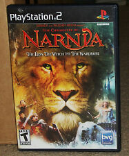 Chronicles of Narnia The Lion the Witch and the Wardrobe PlayStation 2 Complete