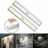 Infrared Motion Sensor 10 LED Night Lamp USB Chargeable Stair Light Closet Lamp