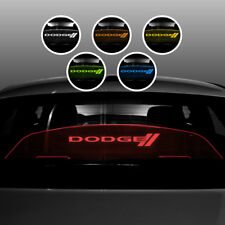 LED Lighted Custom Glow Plate for Dodge Challenger many logos Scat Pack, Hellcat