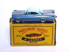 Matchbox Lesney No.57b Chevrolet Impala In Type 'C' Box (SPW CLEAR WINDOWS VNM)