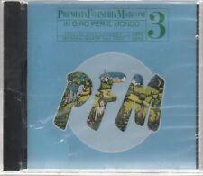 P.F.M. IN GIRO PER IL MONDO 1975 1976 10 ANNI LIVE 3 PFM CD SIGILLATO!!!