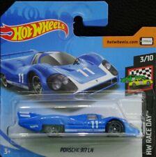 Hot wheels Porsche 917 LH azul HW Race Day 3/10 2019 101/250 FYD21-D521