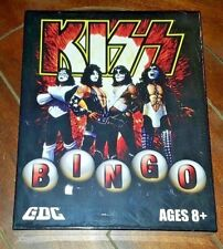 New KISS Bingo Set with KISS Bag, Tally Board, Bingo Chips, KISS Cards, Markers!