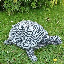 Steinfigur massive Schildkröte Kröte Tierfigur Gartenfigur Steinguss