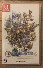 Final Fantasy Crystal Chronicles Remastered (Nintendo Switch, 2020) Jp Version