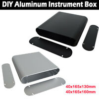 DIY Aluminum Case Electronic Project PCB Instrument Box 40x165x130mm/160mm