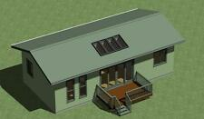 Tiny Home Plan 648 sq.ft. with Free  Energy Saving Checklist