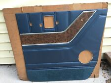 "FORD ECONOLINE ""NOS"" DOOR TRIM PANEL LEFT SIDE D5UZ-2223943-BCB 1975-1979"