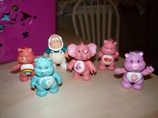 Vintage 80s CARE BEARS  LOT  Bear PVC Figures Toys