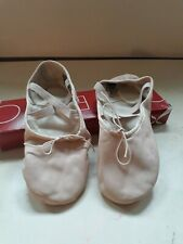 Pink Capezio ballet shoes size 7M barely used