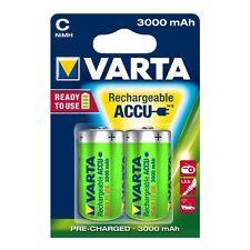 VARTA Akku Ready2Use C 56714 Baby Ni-MH 3.000mAh 1,2V 2Stk. Blister Alkali