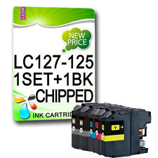 5 XL CHIPPED Ink Cartridge For LC127 LC125 MFC-J4510DW MFC-J4610DW MFC-J4710DW