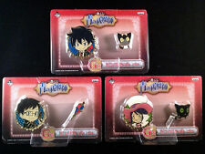 Blue Exorcist Ao no Pins Badges Complete Set official Rin Yukio Mephisto New