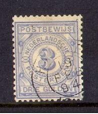 nederland postbewijs nr 4  gebruikt/used luxe