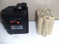 2 Kit batterie battery bateria  Akku SPIT BOSCH, BERNER  WURTH en  2A ni cd