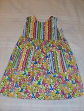HANDCRAFTED LITTLE GIRL DRESS WITH PARTY HAT DESIGN SIZE 2