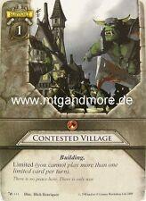 Warhammer Invasion - 1x Contested Village  #111 - Base Set