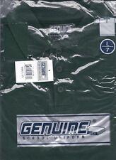 Boys Sz L 7 Dk Green Ss Genuine School Uniform Polo Shirt bsu013