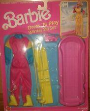 vintage BARBIE Dress N Play WINTER SKI Set Mattel 1989 NEW!