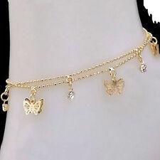 Women Charm Gold Butterfly Ankle Chain Anklet Bracelet Foot Jewelry Sandal Beach