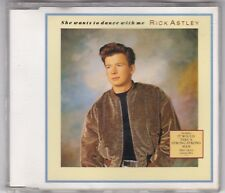 RICK ASTLEY - SHE WANTS TO DANCE WITH ME - 3 TRACK MAXI CD PWL © 1988 GERMANY