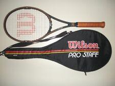 WILSON PRO STAFF 6.0 MIDSIZE 85 TENNIS RACQUET 4 3/8  ST.VINCENT (NEW STRINGS)