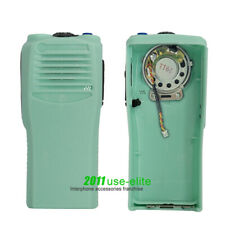 Green Replacement Housing Case For MOTOROLA CP200 Radio with OEM Speaker