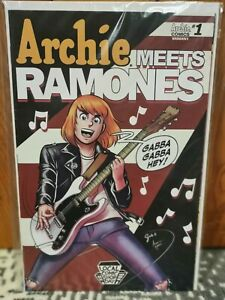 Archie Meets The Ramones LCSD Local Comic Shop Day Variant NM