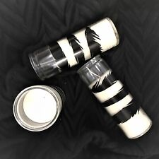 Eightmood Feather Set of 3 Candle Jars 45 Hours burning time. 18 x 6 cm