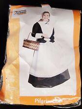 Pilgrim Girl by California Costume Halloween Thanksgiving Childs Medium 8-10 NIP