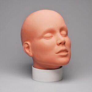 Mehron face paint practice head