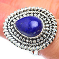 Lapis Lazuli 925 Sterling Silver Ring Size 7 Ana Co Jewelry R56079F
