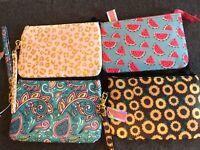 NEW Simply Southern Wrist-let Wallet Phone Case, zipper pocket, detachable strap