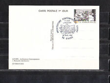 carte  1er jour   architecture contemporaine  69  Givors     1985