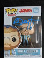 RICHARD DREYFUSS Signed MATT HOOPER Funko Pop JAWS Autograph BAS Beckett COA