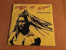 "BUNNY WAILER - DANCING SHOES - 1981 7"" P/S EX/EX - LOTS MORE REGGAE COMBINE POST"