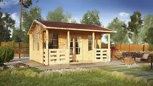 IN STOCK! FAST DELIVERY! Log cabin MALTA  5x5,12m, 44 mm walls/ FREE DELIVERY*