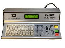 Daktronics All Sport 5000 Scoreboard Controller All Sport Used