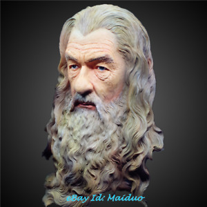 Hobbit Gandalf Bust Resin Model The Lord Of The Rings Collections Painted 12''H