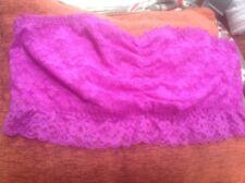 🌺George Women's/girls UK L Purple Lace Crop Bra Top Bralet - BNWOT🌺