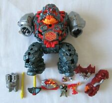 VINTAGE BLUEBIRD TOYS MIGHTY MAX BLASTS MAGUS NEAR COMPLETE LAVA LORD