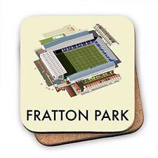 Fratton Park Home of Portsmouth FC  cork backed drinks coaster  (se)