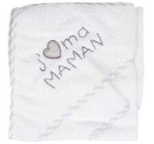 NISSANOU Sortie de bain bébé ensemble Cape avec gant idee cadeau naissance BCJM